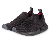 Sneaker NMD_R1 STLT PRIMEKNIT - SCHWARZ