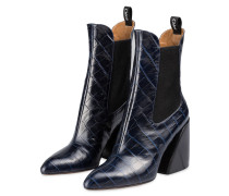 Cowboy Boots WAVE - NAVY INK