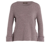 Cashmere-Pullover - taupe