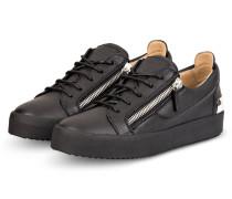 Sneaker FRANKIE STEEL - SCHWARZ/ SILBER
