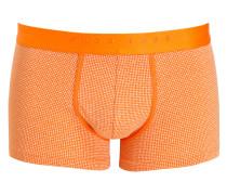 Boxershorts - orange/ weiss