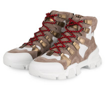 Hightop-Sneaker ACE - TAUPE/ WEISS/ GOLD