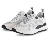 Plateau-Sneaker KICK - WEISS