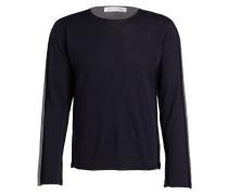 Pullover - navy/ grau