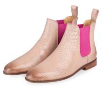 Chelsea-Boots SUSAN - hellrosa