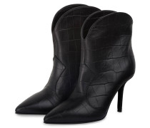 Stiefeletten im Cowboy-Stil - 900 BLACK