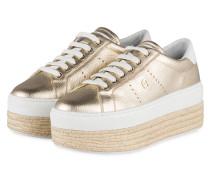 Plateau-Sneaker DIANE II - GOLD