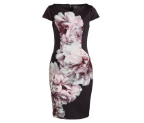 Kleid JENNIFER - schwarz/ rosa/ mint