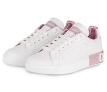 Sneaker PORTOFINO - WEISS/ ROSÉ