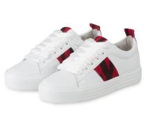Sneaker UP - WEISS/ ROT/ SCHWARZ