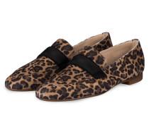 Loafer - BEIGE/ DUNKELBRAUN