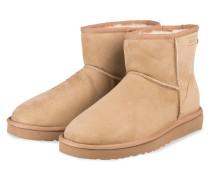 Boots CLASSIC MINI - BEIGE