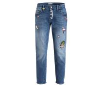 Boyfriend-Jeans - denim blue