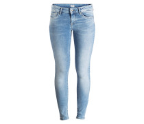 Skinny-Jeans PIXIE - light used blue