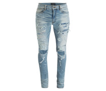 Destroyed-Jeans Skinny-Fit