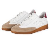 Sneaker BABYLON - WEISS/ BEIGE