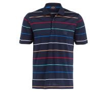 Jersey-Poloshirt - navy