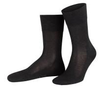 Socken TIAGO - 3190 anthracite mel.