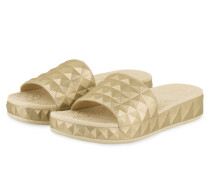 Sandalen SPLASH - GOLD METALLIC