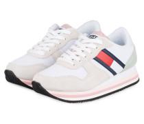 Sneaker - WEISS/ BEIGE/ NUDE