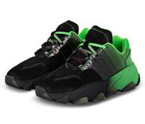Plateau-Sneaker ECSTASY - GRÜN/ SCHWARZ