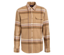 Hemd aus Wolle Comfort Fit