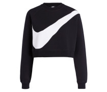 Cropped-Sweatshirt SWOOSH