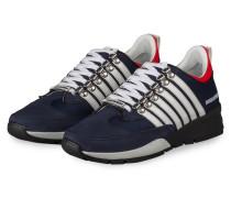Sneaker 251 - BLAU/ WEISS