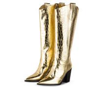 Cowboy Boots - GOLD