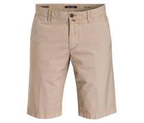 Shorts - beige/ blau gestreift