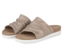 Sandalen - mocca