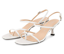 Sandaletten - WEISS