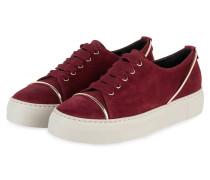 Plateau-Sneaker - DUNKELROT