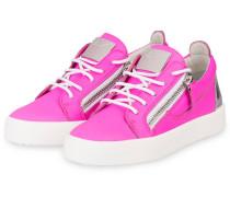 Sneaker - PINK/ SILBER METALLIC/ WEISS