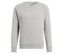 Sweatshirt mit monochromem Stitching