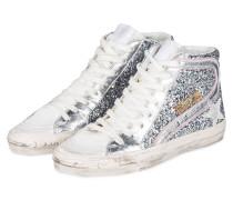 Hightop-Sneaker SLIDE - SILBER/ CREME