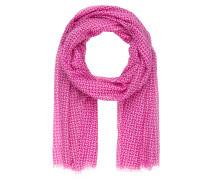 Schal - pink/ offwhite