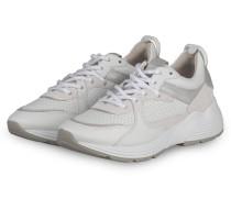 Plateau-Sneaker HIT - WEISS