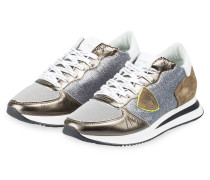 Sneaker TROPEZ - KHAKI/ SILBER