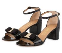 Lack-Sandaletten BIG VARA BOW - SCHWARZ