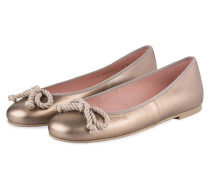Ballerinas ROSARIO - GOLD METALLIC