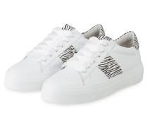 Plateau-Sneaker BIG - WEISS/ SCHWARZ