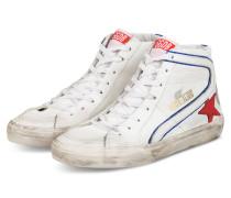 Hightop-Sneaker SLIDE - WEISS