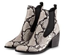 Cowboy Boots LUNA - GRAU/ SCHWARZ/ WEISS