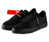 Sneaker LOW VULCANIZED - SCHWARZ