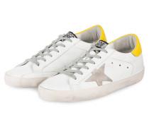 Sneaker SUPERSTAR - weiss/ gelb