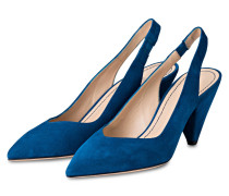 Slingpumps CITY - BLAU