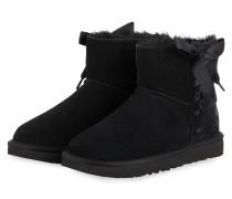 Boots CLASSIC LACE MINI - SCHWARZ