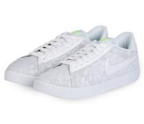 Sneaker RACQUETTE PRINT - WEISS