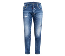 Destroyed Bootcut Jeans Extra Slim Fit